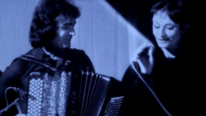Roland Romanelli et Barbara  (France 3 Ile-de-France)