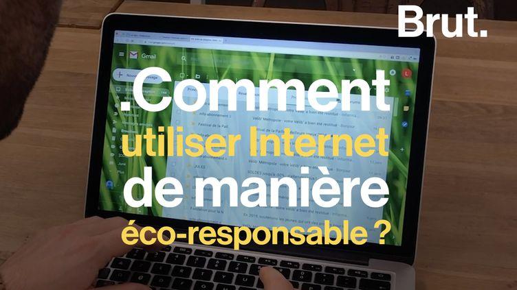 VIDEO. Pour limiter la pollution liée à Internet, des alternatives existent (BRUT)