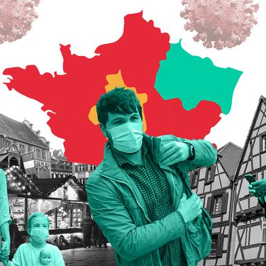 Le Grand Est va-t-il être l'une des régions les moins touchées par l'épidémie de Covid-19 cet automne ? (GETTY IMAGES / JESSICA KOMGUEN / FRANCEINFO)