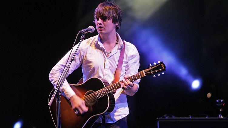 Peter Doherty, lors de son concert aux Nuits de Fourvière à Lyon, le 26 juillet 2009. (AUGROS PIERRE / MAXPPP)