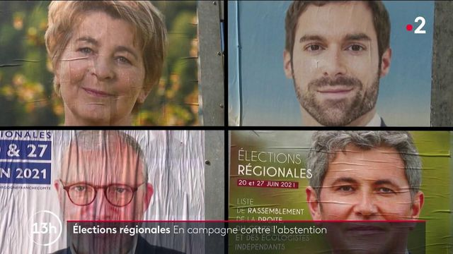 Élections régionales : les candidats de la Bourgogne-Franche-Comté en campagne contre l'abstention
