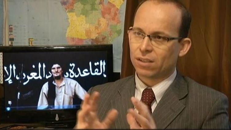 Mathieu Guidère, professeur des universités et spécialiste de l'islamisme radical, interrogé le 1er mai 2013 par France 3. (FRANCE 3 / FRANCETV INFO)