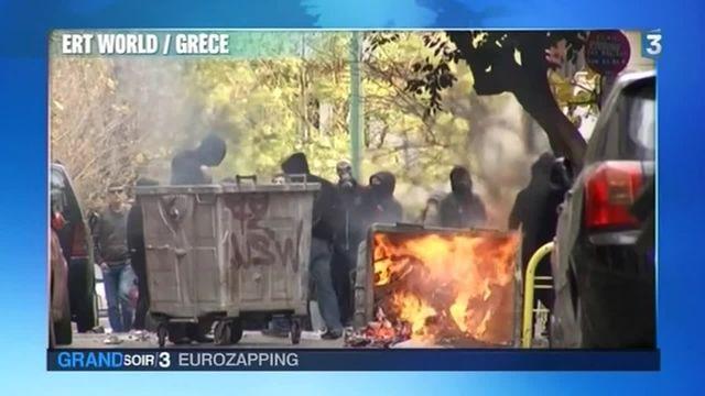 Eurozapping : les Grecs dans la rue pour défendre leurs retraites