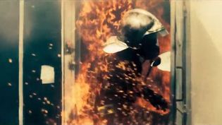 Image extraite du film Sauver ou Périr, réalisé par Frédéric Tellier, et dans lequel joue Pierre Niney. (FRANCE 3)