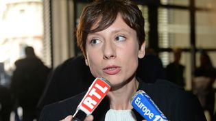 Maître Cécile Derycke, avocate de la société TÜV Rheinland, en 2013. (BORIS HORVAT / AFP)