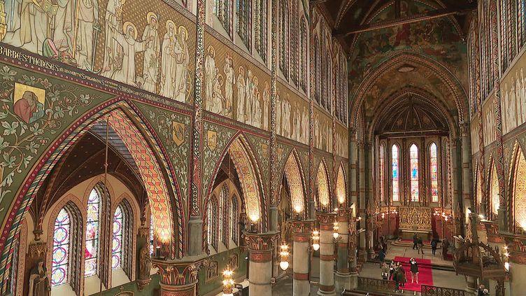 L'église St Joseph de Roubaix est l'oeuvrede l'architecte belge,baron de Béthune au XIXe siècle. (France 3 Hauts-de-France)