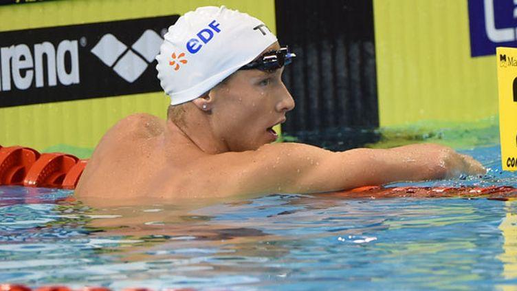 Le nageur français Damien Joly était déçu de son élimination dès les séries du 1500m