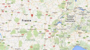 Deux personnes ont été tuées au fusil de chasse et une troisième grièvement blessée, le 18 mai 2015, dans une exploitation agricole à Magny-Cours (Nièvre). ( GOOGLE MAPS)