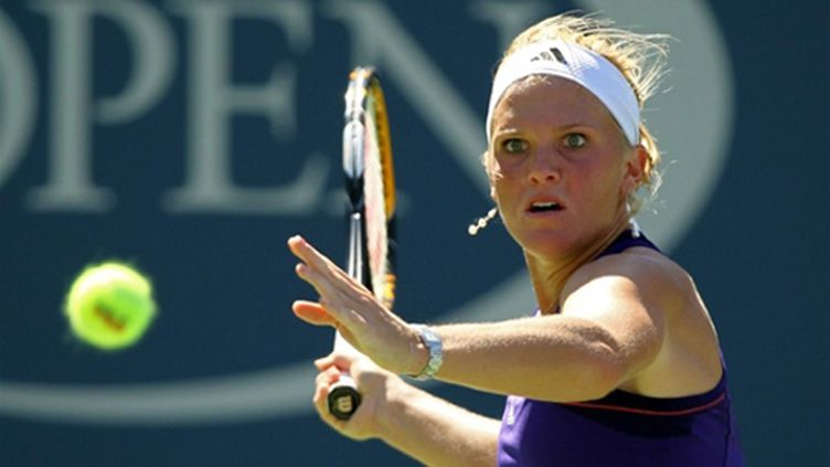 L'Américaine Melanie Oudin (AL BELLO / GETTY IMAGES NORTH AMERICA)