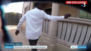 Un passeur nigerian (France 3)