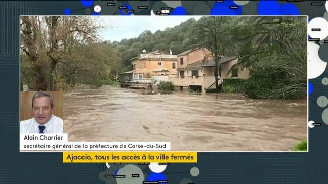 Inondations à Ajaccio : la situation est extrêmement préoccupante