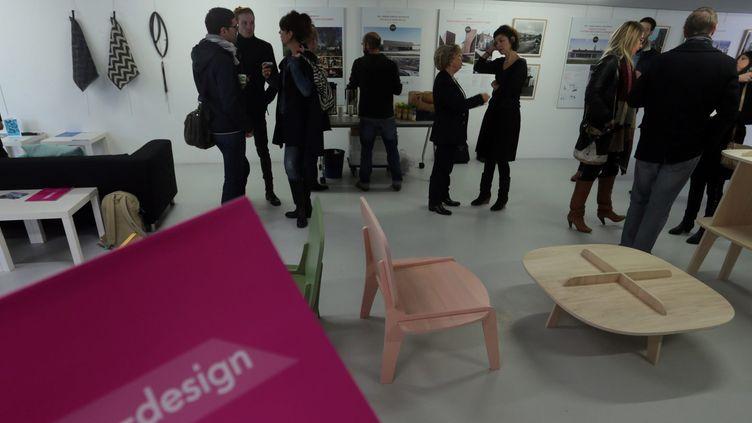 Lille-design présent les jeunes talents du design (28 janvier 2016)  (Baziz Chibane / PhotoPQR / Voix du Nord / MaxPPP)