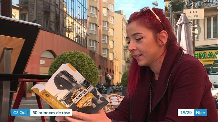 """L'auteure CS Quill, figure montante de la """"new romance"""" (D. Gerner / France 3)"""