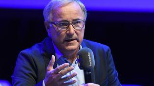 Vincent Giret, directeur de la radio franceinfo. (BERTRAND GUAY / AFP)