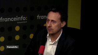 Stéphane Sellami, le jeudi 13 septembre 2018 sur franceinfo. (FRANCEINFO)