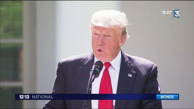 Climat : Trump déchire l'accord