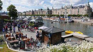 La nature est omniprésente, la bicyclette aussi, en Suède comme au Danemark. (Jean-Luc Grzeskowiak / Radio France)