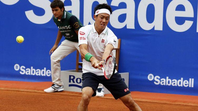 Kei Nishikori vainqueur à Barcelone (JOAN VALLS / NURPHOTO)