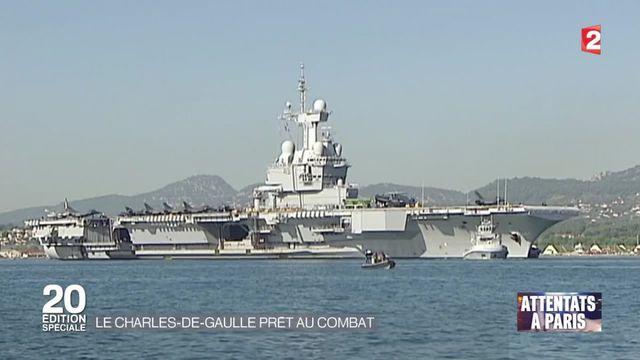 Le Charles de Gaulle est prêt au combat