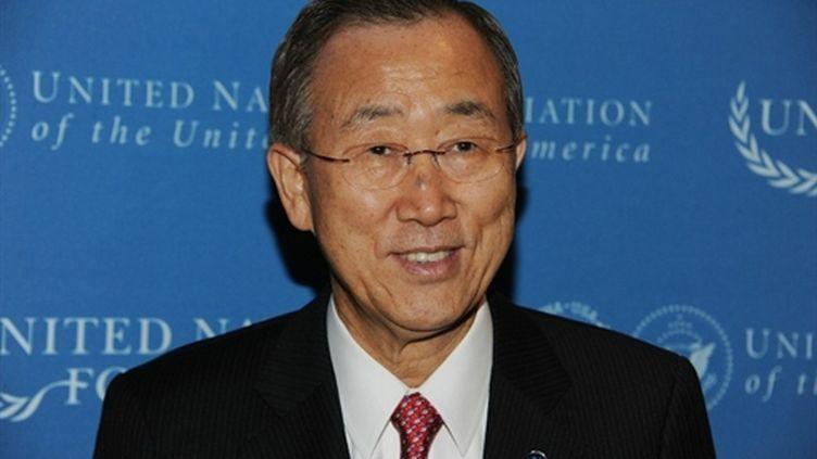 Le secrétaire général de l'Onu, Ban Ki-Moon, en novembre 2010 à New-York. (AFP)