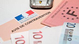 Un avis de contravention routière (Image d'illustration). (MAXPPP)