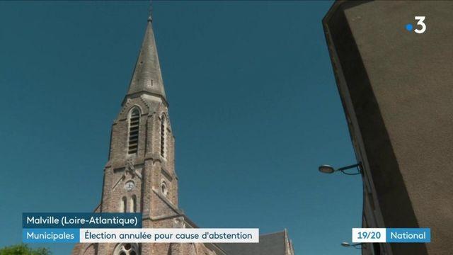 Municipales : en Loire-Atltantique, une élection annulée à cause de l'abstention