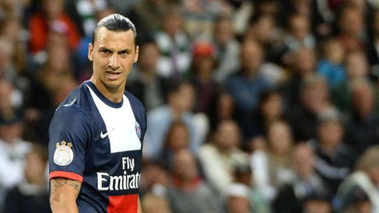 L'attaquant du PSG, Zlatan Ibrahimovic