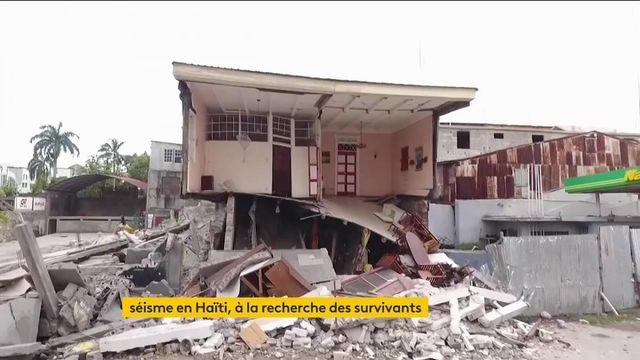 Haïti : plus de 700 morts dans un séisme