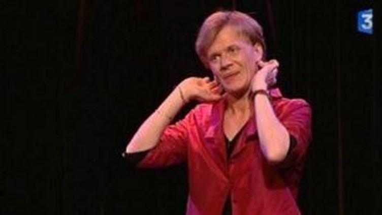 L'humoriste Alex Lutz au théâtre du Temple à Paris  (Culturebox)