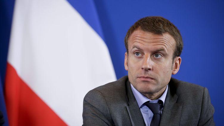 Le ministre de l'Economie,Emmanuel Macron, le 28 juillet 2015, à Paris. (  MAXPPP)
