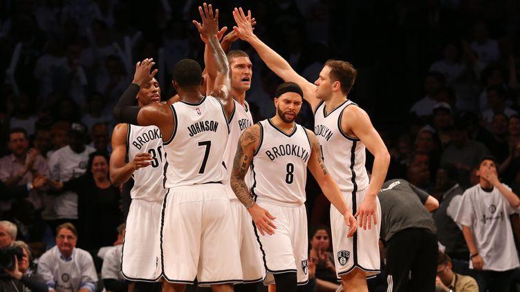 Les Nets ont décroché une deuxième victoire d'affilée face aux Hawks  (? USA TODAY SPORTS / REUTERS / X02835)