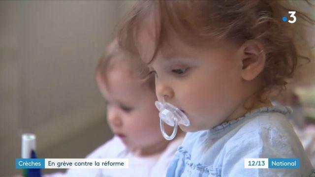 Crèches : les salariés de la petite enfance en grève