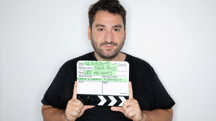 """Mouloue Achour vient de coréaliser son premier film """"Les Méchants"""", le 8 septembre 2021. (FRED DUGIT / MAXPPP)"""