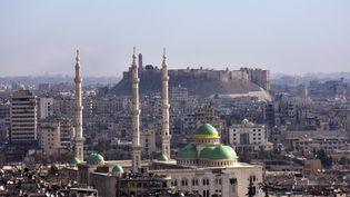 La vieille ville d'Alep, en Syrie, le 3 décembre 2016. (GEORGE OURFALIAN / AFP)