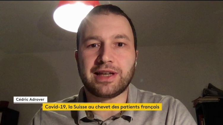 Cédric Adrover, journaliste suisse (FRANCEINFO)