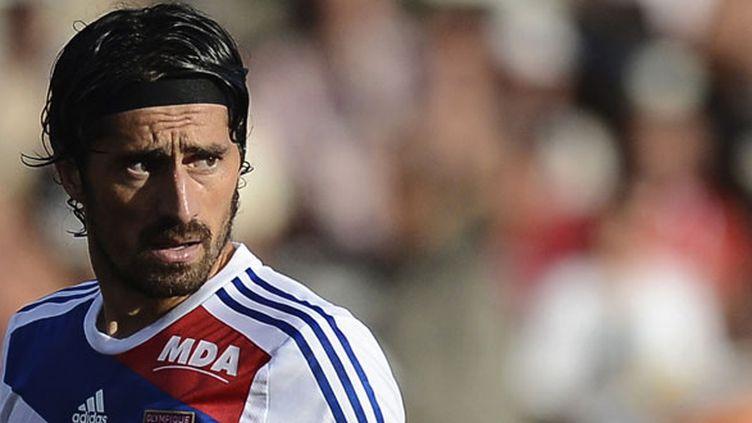 Milan Bisevac, le défenseur central lyonnais, buteur du soir