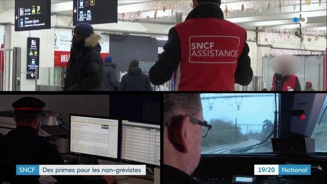 SNCF : des primes versées aux agents non grévistes