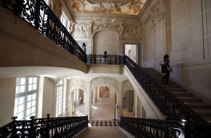 L'escalier de l'hôtel Salé  (François Mori / AP / SIPA)