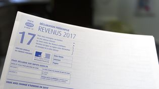 Une déclaration de revenus 2017. (MAXPPP)