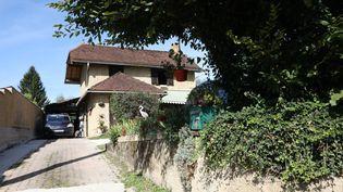 La maison des parents de l'homme mis en examen dans l'affaire Maëlys, en Savoie. (JEAN-BAPTISTE QUENTIN / MAXPPP)