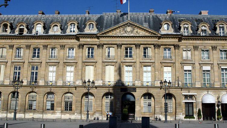 (Le siège du ministère de la Justice, place Vendôme à Paris ©Maxppp)