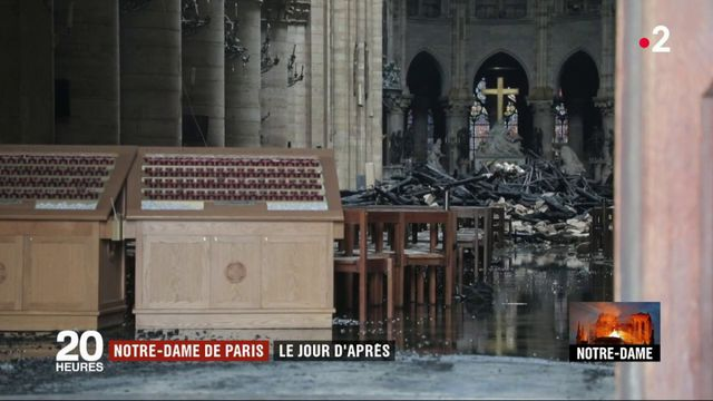 Incendie de Notre-Dame : le jour d'après
