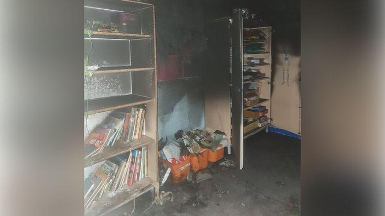 L'incendie criminel a détruit deux classes de l'école élementaire Jean Jaurès de Drancy, ce mercredi 20 octobre (DR - Ville de Drancy)