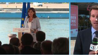Présidentielle 2022 : Anne Hidalgo en quête d'un nouveau souffle à Lille (FRANCE 3)