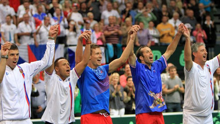 Le bonheur des Tchèques, Berdych et Stepanek en tête