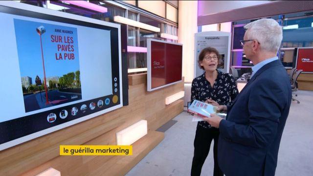 """Invitée de Jean-Paul Chapel, jeudi 26 octobre dans l'émission """": l'éco"""", Anne Magnien journaliste et spécialiste de la publicité est venue présenter son livre """"Sur les pavés la pub"""" qui évoque le marketing guérilla."""