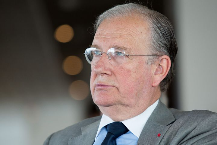 Michel Pinault, president de la Commission des sanctions de l Autorite des Marches Financier, photographié le 2 jui n 2014 à Paris. (FRANCOIS LAFITE/WOSTOK PRESS / MAXPPP)