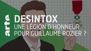 Désintox. Il est techniquement possible de proposer Guillaume Rozier comme candidat à la Légion d'honneur (ARTE/2P2L)