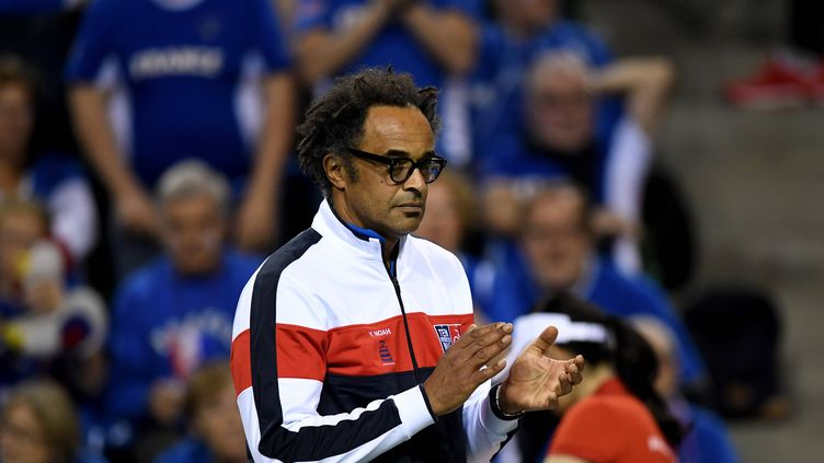 Yannick Noah est sélectionneur de l'équipe de France de Coupe Davis depuis 2016.