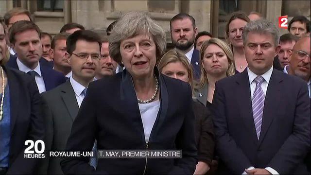 Theresa May est seule en lice pour succéder à David Cameron